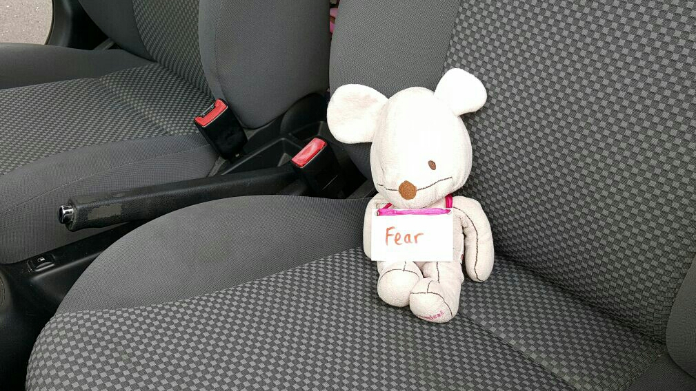 Fear in the passenger seat